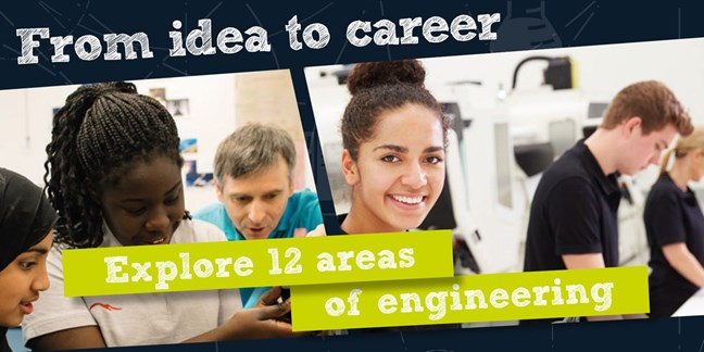 From idea to career, explore 12 areas of engineering