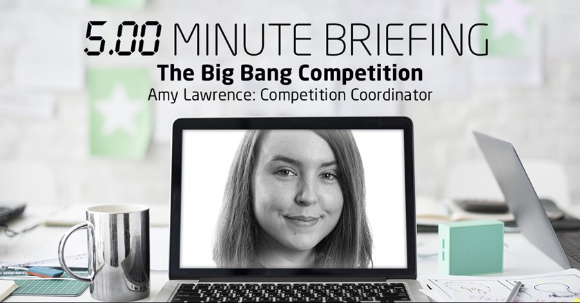 Amy Lawrence, The Big Bang Competition