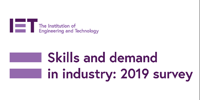 IET releases 2019 Skills and Demand in Industry Survey