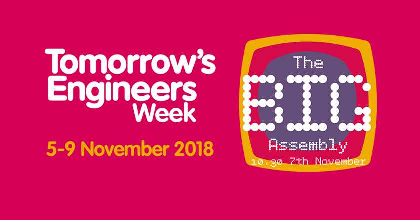Tomorrow's Engineers Week The Big Assembly